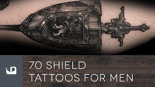 70 Shield Tattoos For Men