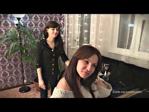 Наращивание волос на Короткие волосы - От Ольги Полоник