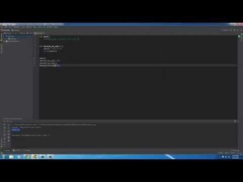 Python Programming Tutorial – 12 – Functions