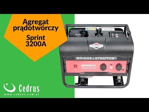 Cedrus: Agregat prądotwórczy B&S Sprint 3200A
