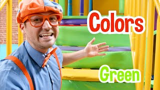Learn With Blippi At Amys Playground | Educational Videos For Toddlers With Blippi