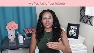 "Are You Using Your Talents? || ""Coffee with Jess"" Entrepreneur & Marketing Advice Vlog"