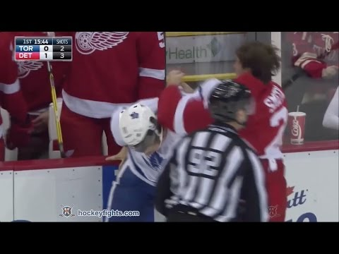 Brendan Smith vs. Zach Hyman