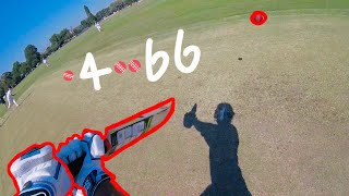 GoPro Cricket Match- Extraordinary Delivery Knocked my OFF Stump OUT!