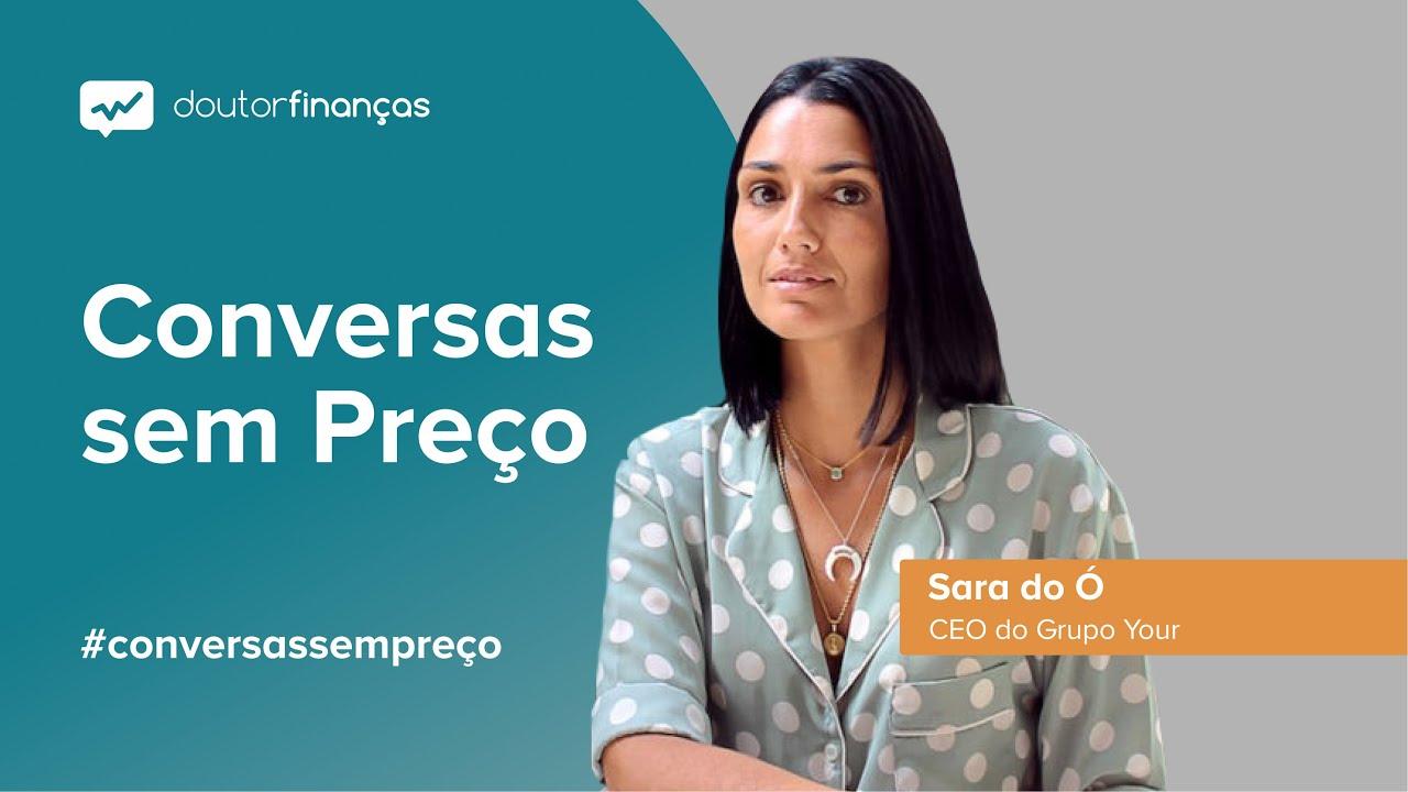 Imagem de um pc portátil onde se vê o programa Conversas sem Preço com a entrevista a Sara do Ó, CEO do Grupo Your