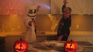 Spooky Scary Candy Corn Ft. Ghastly | Cooking with Marshmello [Halloween Special]