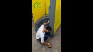 Moneybox HDPE Portable Toilet Assemble