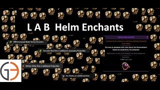 Discussion: Labyrinth Helm Enchantments   493 Ways To RNG Some POE Currency
