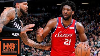 Philadelphia Sixers Vs Sacramento Kings Full Game Highlights | 02/02/2019 NBA Season