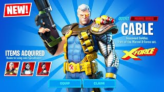 New DEADPOOL EVENT and MARVEL X-FORCE SKINS! (Fortnite Battle Royale)