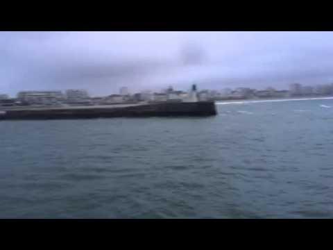 I tre catamarani Lagoon al momento della partenza