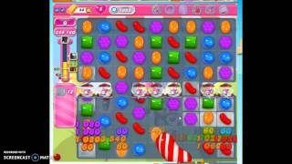 Candy Crush Level 1665 help w/audio tips, hints, tricks