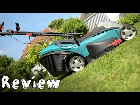 Review - Bosch Rotak 43 LI - Ein Rasenmäher mitm Akku