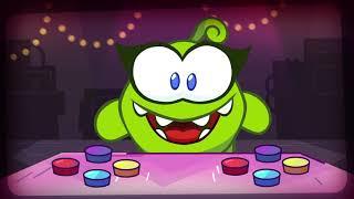 Das Malbuch OmNom. Saison 10. Folge 6. Die SuperNoms und die Spielautomaten. Zeichentrick für Kinder