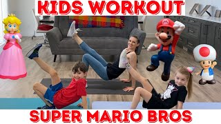 Kids Workout / Super Mario Workout (age 3-10)