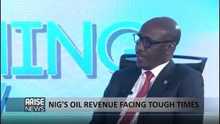 Mele Kyari: Nigeria's oil revenue facing tough times. Special interview with @NNPCgroup GMD,@MKKyari