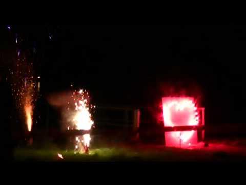 Feuerwerk Hotel Teikyo 02.05.09
