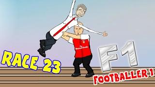 Wenger - TIME TO GO? 🏁RACE - 23: Footballer 1🏁(Liverpool vs Chelsea 1-1, West Ham vs Man City 0-4)