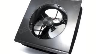 Solar Powered Exhaust Fan and Ventilator - 15W - Adjustable - 14