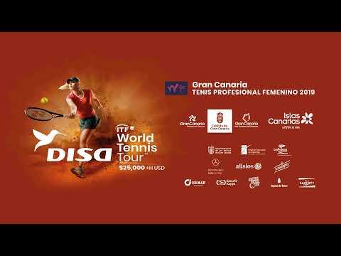 📺 Tenis | ITF World Tennis Tour Disa Las Palmas de Gran Canaria: Semifinales