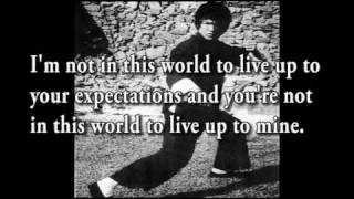 Bruce Lee's Philosophy