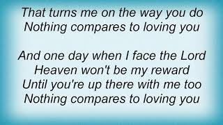 Aaron Tippin - Nothing Compares To Loving You Lyrics