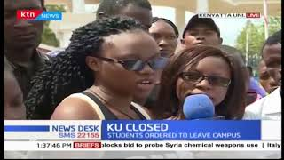 Varsity students react as administration closes Kenyatta University after strike