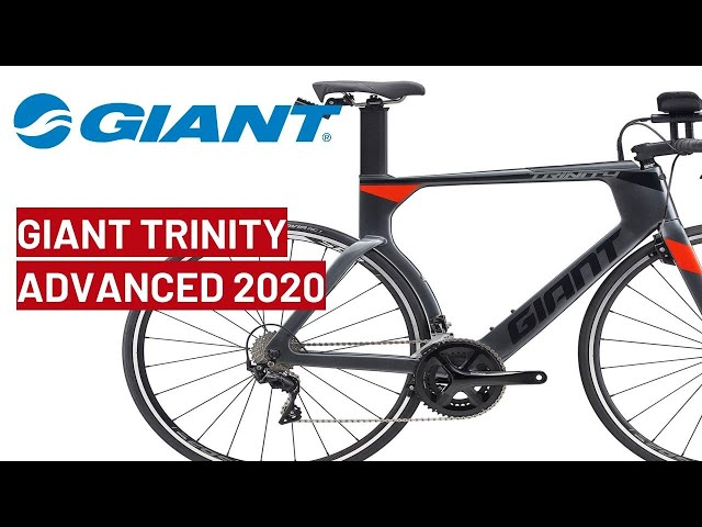 Видео Велосипед Giant Trinity Advanced Pro Charcoal/Neon Red