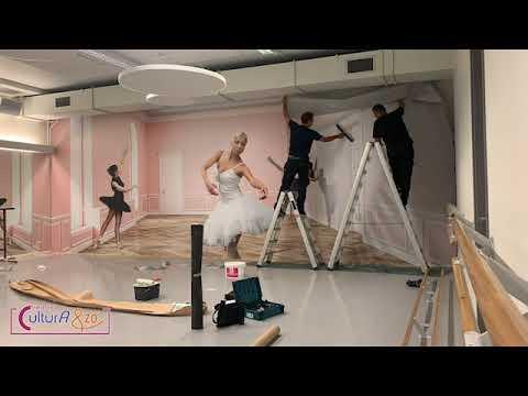 Bekijk details van Wanddecoratie in het Balletstudio