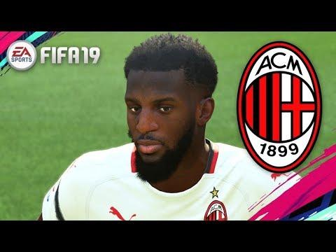 FIFA 19   AC MILAN PLAYER FACES - Serie A