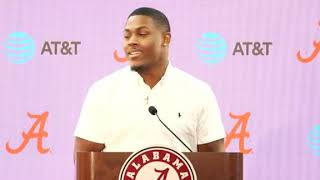 Alabama players declare for the NFL Draft