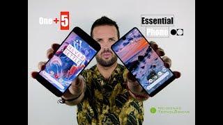Speed Test - Essential Phone vs OnePlus 5