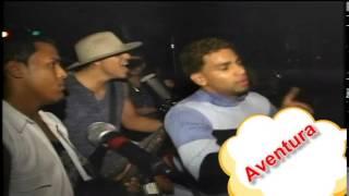 Romeo Santos y Aventura merengue