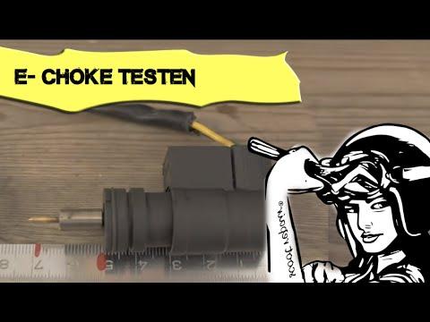 Roller E-choke überprüfen! scoot repair®