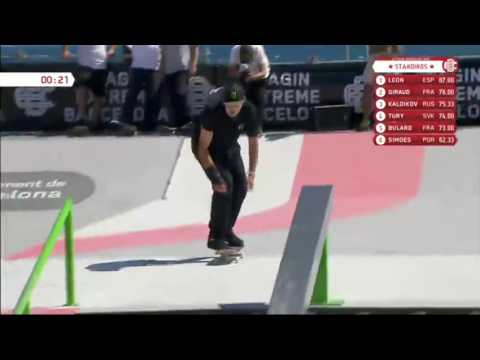 Riso TURY - 2nd place - EXTREME BARCELONA PRO 2016
