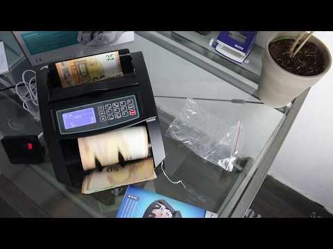 💰 Geldzählmaschine Test - Geldscheinzähler Scheine SR-3750 LCD UV/MG/IR von Securina24