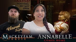 ANNABELLE COMES HOME - Official Trailer 2- REACTION and REVIEW!!!