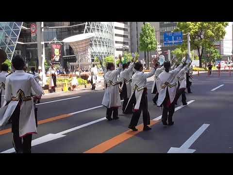 2018 ナゴヤエキトピアまつりウェルカムパフォーマンス1(猪子石中学校URIBOブラスターズ)