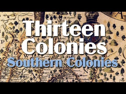 Southern Colonies in Early America