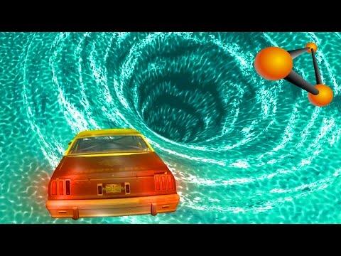 WTF? Crash to Black Hole | BeamNG Drive