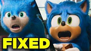 SONIC Trailer New VFX Explained! Comparison & Design Analysis!