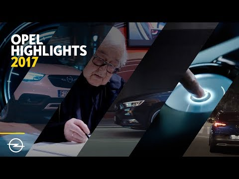 2017: Ein Jahr voller Opel Highlights