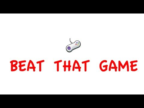 Video of Beat that Game!