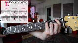 How To Play EASY & DREAMY Guitar Chords - SHOEGAZE   DREAM POP   AMBIENT Tutorial - Vol. 2