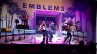 Emblem3 XO Stars Dance Tour Nashville 10/25/13