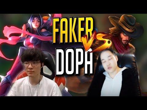 【Faker】【Dopa】Faker對上Dopa!對線期全紀錄!- LoL英雄聯盟