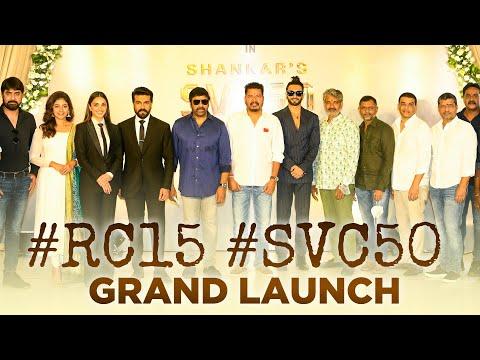 #RC15 #SVC50 Grand Movie Launch