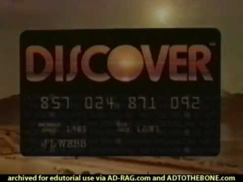 Discover Card Commercial for Super Bowl XX 1986 (1986) (Television Commercial)