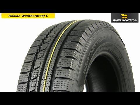 Youtube Nokian Weatherproof C 225/65 R16 C 112/110 R Celoroční