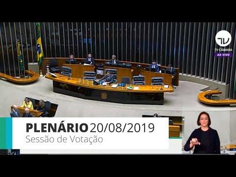 Plenário - Sessão de votação - 20/08/2019 - 14:00